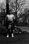 Chester in his kilt, ca.1935.  Toronto, ON.