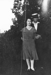 Chester & Luella Reid (wife), ca.1930's.  Norval, ON.