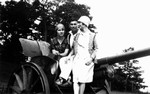 Chester, Marion (Webb) Laird & Bessie Laird, ca.1928.  Norval, ON.