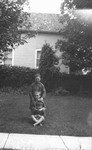 Chester at 5 with Cameron Leask, Douglas MaDill, 2 playmates, ca.1917.  Leaskdale, ON.