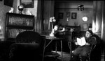 Stuart in parlor of Manse at Norval, age 13, ca.1928.  Norval, ON.