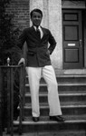 Stuart Macdonald age 15 (?), ca.1929.  Norval, ON.