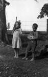 Stuart & Lorraine Webb, ca.1923.  Park Corner, P.E.I.