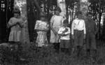 Chester, Stuart (Maud's youngest), Jim & Amy Campbell, ca.1923.  Park Corner, P.E.I.