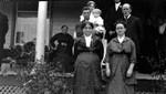 Bessie Cork's wedding, ca.1920's.  Leaskdale, ON.