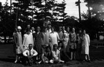 Bible Class picnic, ca.1927.  Norval, ON.