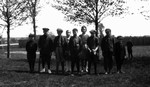 Chester's baseball team, ca.1918.  Leaskdale, ON.