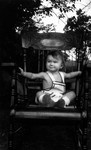 Cameron Macdonald (Chester's son), ca.1937.  Norval, ON.