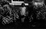 Unidentified little girl, ca.1928 (?).  Norval, ON.