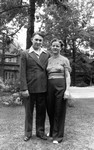 Dave Campbell, & (wife), ca.1930's.  Toronto, ON.