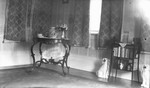Parlor at Leaskdale Manse including Gog and Magog, the china dogs