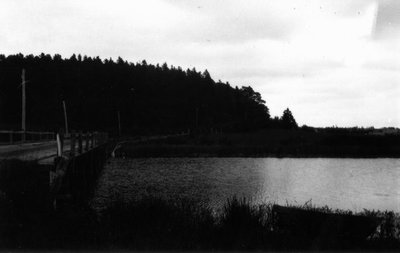 Pond at Park Corner, ca.1890's, know as Lake of Shining Waters in Anne of Green Gables