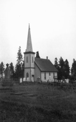Anglican Church, ca.1890's.  Cavendish, P.E.I.