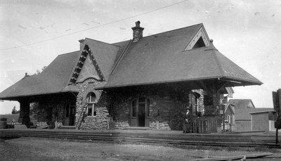 Kensington Train Station, P.E.I., ca.1905.