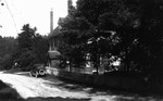 Back view of Barraclough's home, Glen Williams, ON.