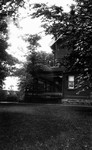 Side view of Barraclough's home, Glen Williams, ON.
