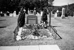 L.M. Montgomery grave at Cavendish, P.E.I.