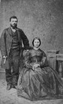 Great Uncle John MacNeill and his wife, ca.1860's.