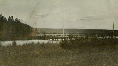 Lake of Shining Waters near McNeill house, Park Corner, P.E.I.