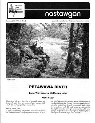 Nastawgan (Richmond Hill, ON: Wilderness Canoe Association), Summer 2005