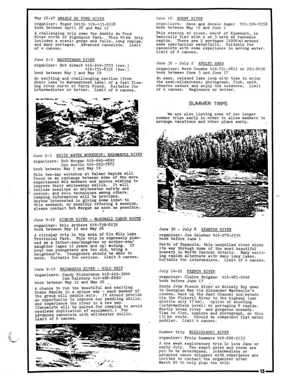 Nastawgan (Richmond Hill, ON: Wilderness Canoe Association), Spring 1979