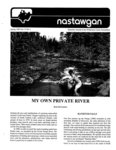 Nastawgan (Richmond Hill, ON: Wilderness Canoe Association), Spring 1990