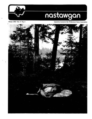 Nastawgan (Richmond Hill, ON: Wilderness Canoe Association), Winter 1990