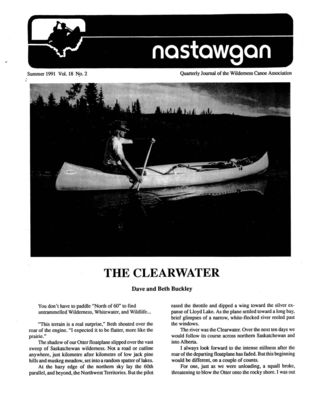 Nastawgan (Richmond Hill, ON: Wilderness Canoe Association), Summer 1991