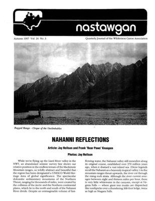 Nastawgan (Richmond Hill, ON: Wilderness Canoe Association), Fall 1997