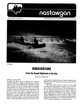 Nastawgan (Richmond Hill, ON: Wilderness Canoe Association), Spring 1999