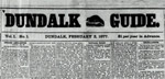 Dundalk Guide Digital Copies 1877-1878