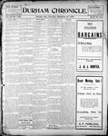 Durham Chronicle (1867), 13 Sep 1900