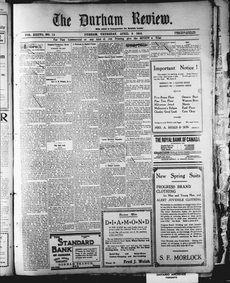 Durham Review (1897), 9 Apr 1914