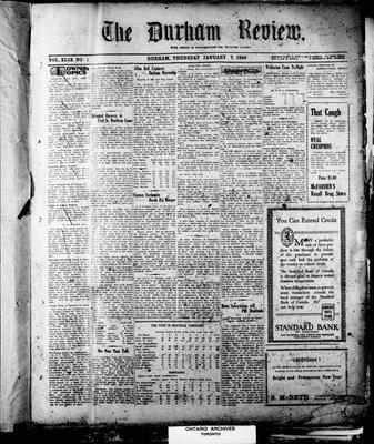 Durham Review (1897), 7 Jan 1926