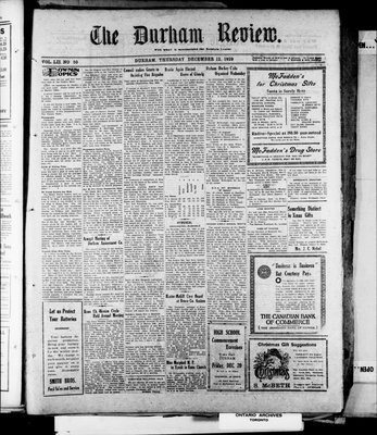 Durham Review (1897), 12 Dec 1929