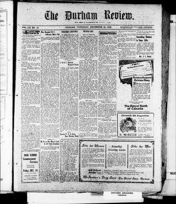 Durham Review (1897), 19 Dec 1929