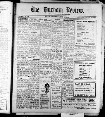 Durham Review (1897), 18 Jun 1931