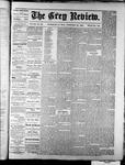 Grey Review, 20 Jan 1881