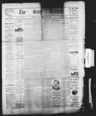 Grey Review, 26 Sep 1895