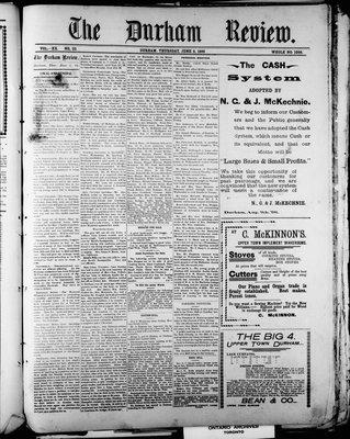Durham Review (1897), 9 Jun 1898