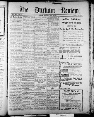 Durham Review (1897), 23 Jun 1898