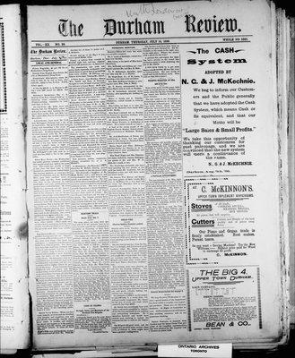Durham Review (1897), 14 Jul 1898
