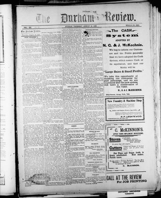 Durham Review (1897), 18 Aug 1898