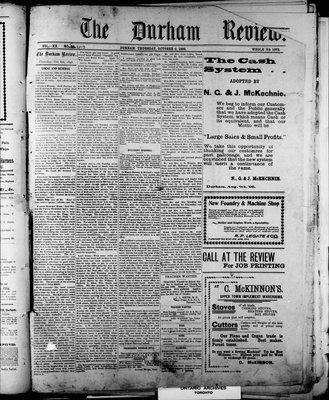 Durham Review (1897), 6 Oct 1898