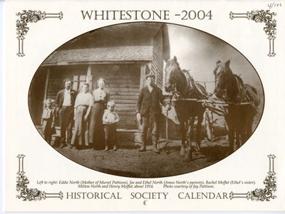 Whitestone Historical Society Calender - 2004