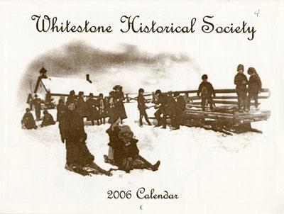 Whitestone Historical Society Calender - 2006