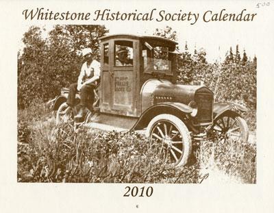 Whitestone Historical Society Calender - 2010