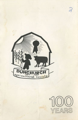Dunchurch Agricultural Society Cookbook, 1889 - 1989