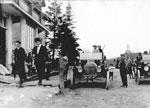 First Cars in Dunchurch, at Buchanan Store, 1915