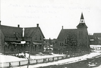 The Moulton's House, circa 1910